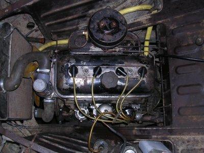 Remontage du moteur ............................Peugeot 203 de 1949
