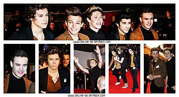 23/01 : Louis, Eleanor & Liam allant dîner au Pre-Brit Awards à Raymond Well.