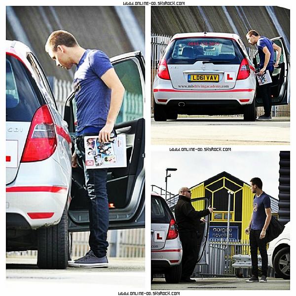 28/01 : Harry arrivant à l'aéroport de Heathrow.