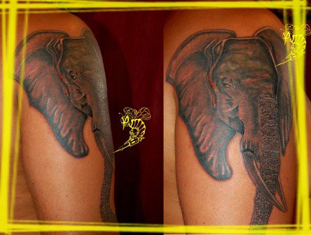 Jean marc manoo tattoo 2908 for Marc anthony neck tattoo