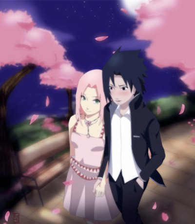 Sasuke ayant des relations sexuelles avec sakura