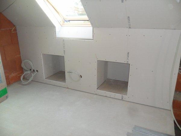 13 mars 2012 sous pentes verticales chambre de parents notre maison mikit dans le morbihan. Black Bedroom Furniture Sets. Home Design Ideas