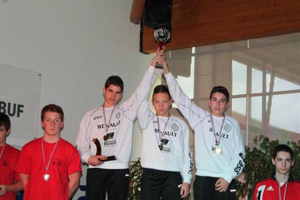 Championnats de France Minimes ce week end � Dunkerque - Les Mousquetaires Clermontais ambitieux