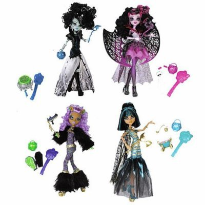 Photo de monster high heey - Clawdeen wolf pyjama party ...