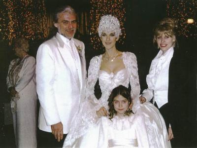 celine a son mariage avec sa niece audrey qui a porter les