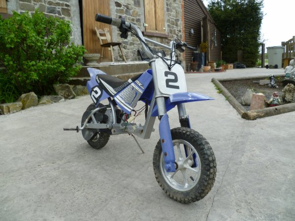 Razor MX-350 de 2006: pocket cross electrique
