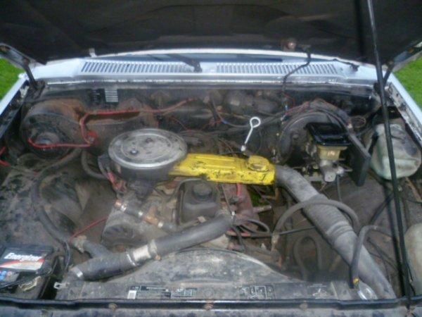 Chevrolet S10 2.5 utilitaire 4x2, automatique de 1992