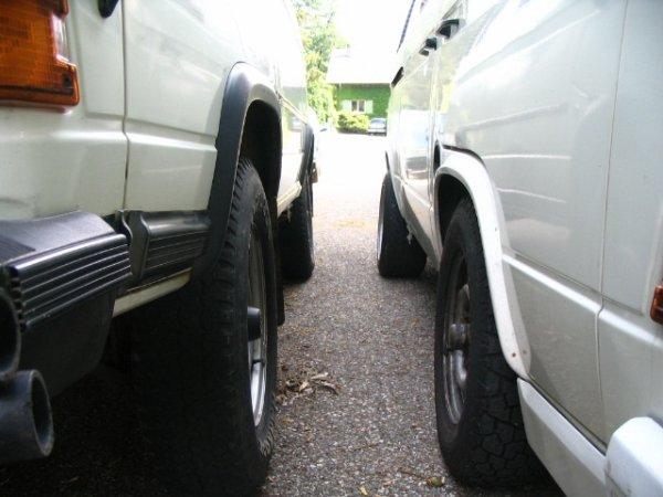 Comparaison entre le syncro 4x4 et le 2WD