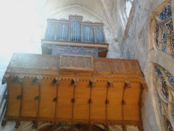 l'�glise notre dame et son orgue