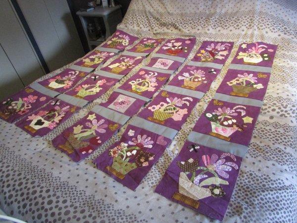 patchwork encours les paniers