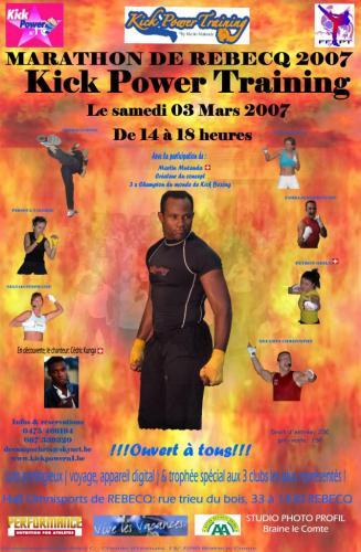 Participation au Marathon Rebecq 2007