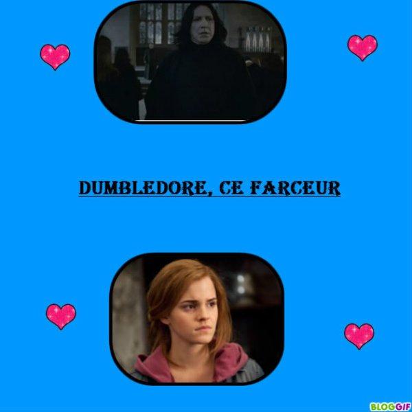 Chapitre 27 : Dumbledore s'en mêle encore.