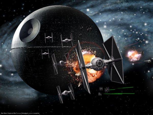 Vaisseau star wars etoile noir l 39 univers de star wars - Etoile noire star wars ...