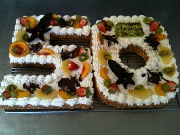 Anniversaire 50 ans boulangerie patisserie pizzeria - Decoration anniversaire 50 ans homme ...