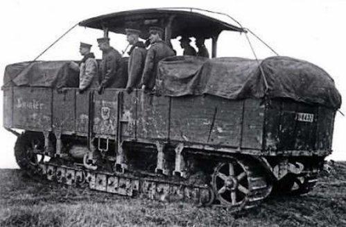 SturmpanzerKraftwagen A7V ( Engin d assaut Blind� )