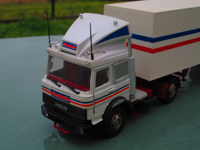 IVECO turbo  star 190 U 26 FRANCE ROUTIERS (old car) 1.43