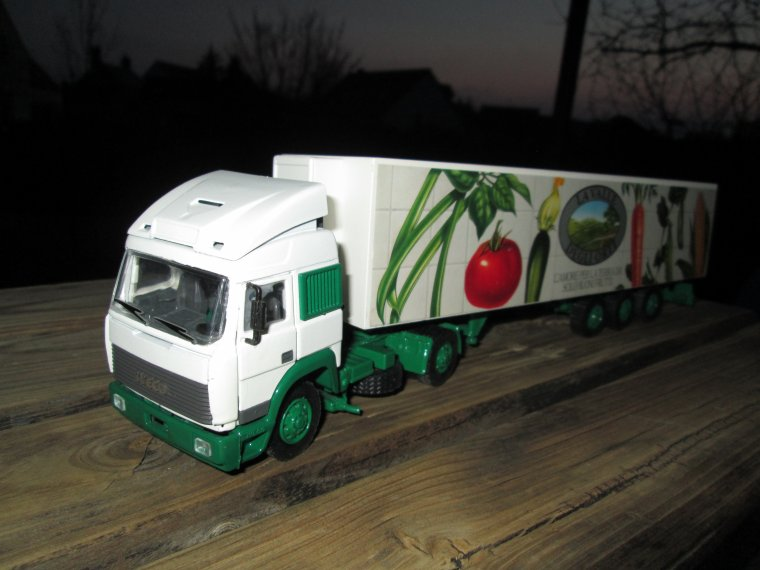 IVECO TURBOSTAR  OLD CAR 1/43