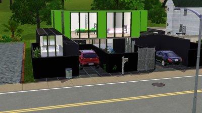 La maison container : l'ext�rieur