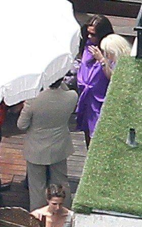 Victoria Beckham et ses amis, r�unis pour une Baby Shower toute rose !
