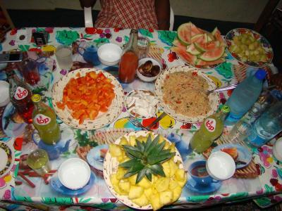 Un repas convivial entre amis que des d lices ananas for Repas simple et convivial entre amis