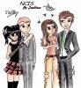 My Draw Of NCIS - Tiva & McAbby