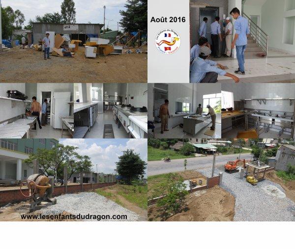 Travaux de construction de l'orphelinat - Page 7