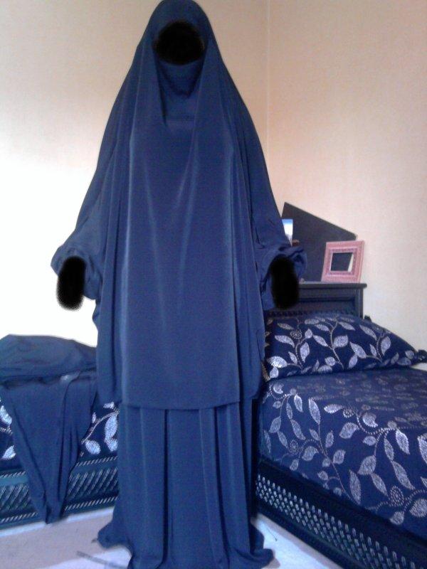jilbab tablier