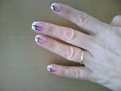 2 eme dessin sur ongle super nounours Idee dessin sur ongle