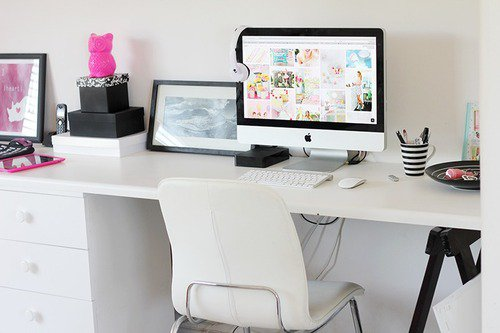 organiser son bureau my little world of fashion. Black Bedroom Furniture Sets. Home Design Ideas