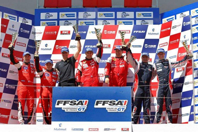 Bilan de la 2ème manche du GT FFSA à Imola