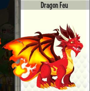 Dragon feu