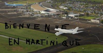 Bienvenue � L'a�roport Martinique Aim�-C�saire !