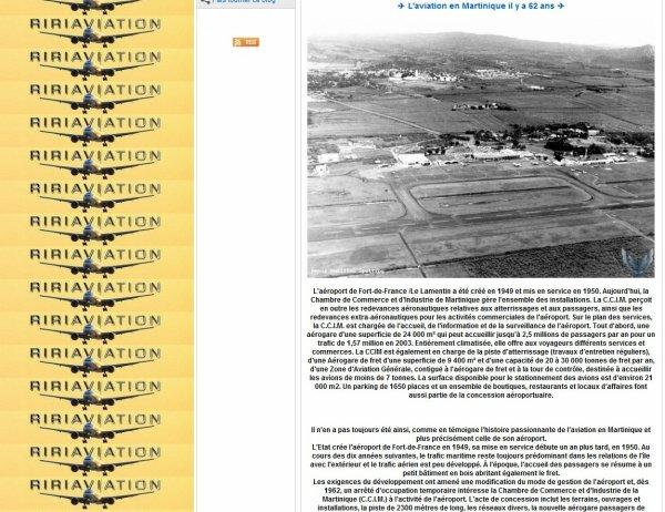 Histoire de l'Aéroport & Anciennes Compagnies