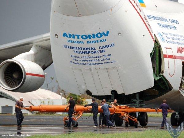 Antonov AN225 > Martinique 2007