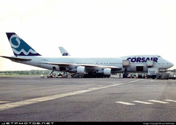 Rétro : 747-100 Corsairfly