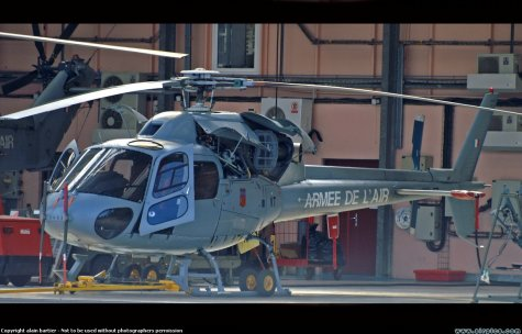 Helico -  Eurocopter AS.350 Armée Fr