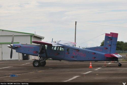 Pilatus PC-6 > Caraïbes Parachutisme