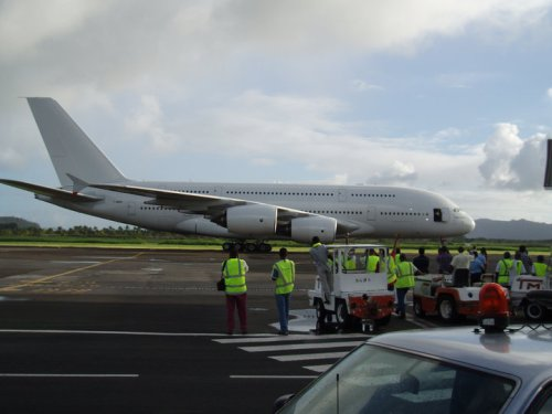Airbus A380 > Martinique 2006 .