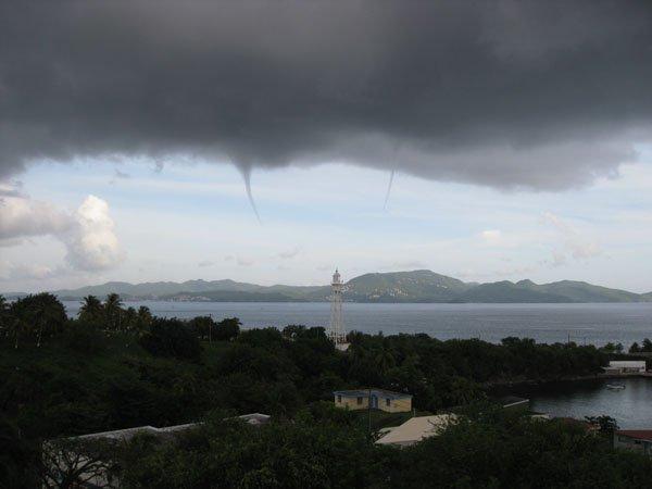 Photos > Trombes Marine Martinique