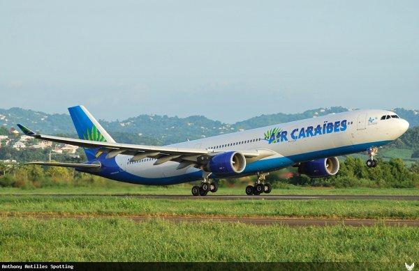 Infos > 5ième Airbus A330 Air Caraibes