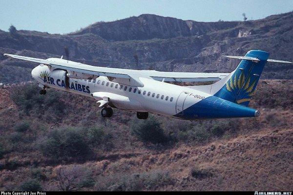 Photo > Premier ATR72 Air Caraibes
