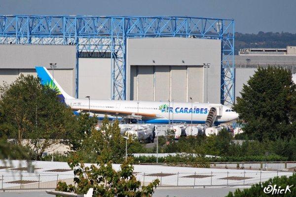 Exclu !!! Photo > Nouveau Airbus A330-300 Air Caraïbes