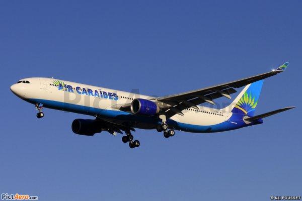 NEW > New plane > Nouveau Avion > Air Caraibes