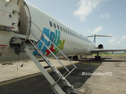 Visite > Mc Donnel Douglas > Insel Air Aruba