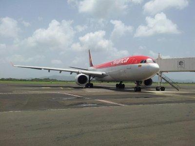 Déroutement Martinique > Avianca