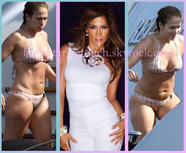 Jennifer lopez 4 le corps des stars sans retouche 100 naturel - Jennifer lopez grosse ...