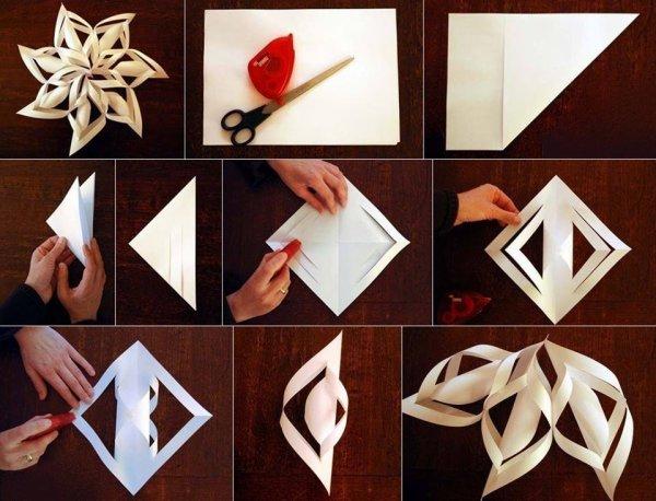 Comment faire une etoile de no l pour le sapin les - Comment faire un sapin en origami ...