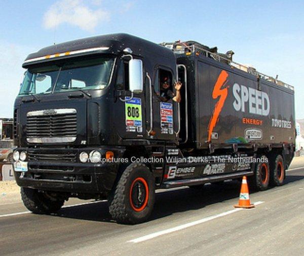 Freightliner Argosy Team Robby Gordon In Dakar Rally