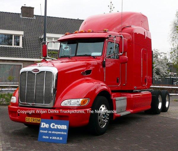 Veldhoven Netherlands  City pictures : Peterbilt 386 De Crom, Veldhoven, The Netherlands American Trucks ...