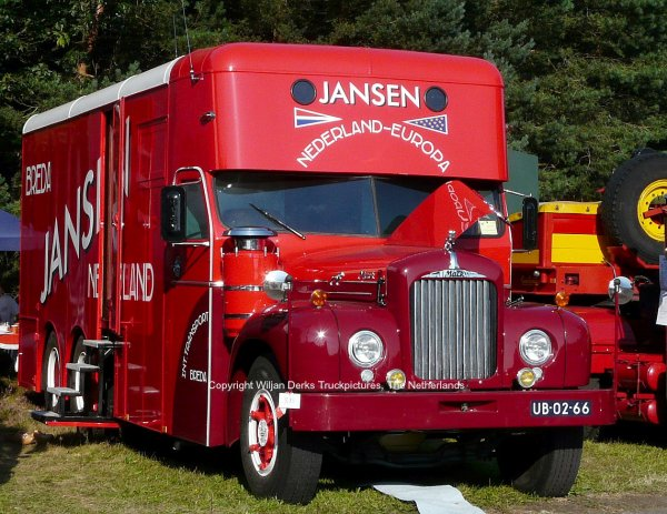 Mack b43 jansen breda the netherlands american trucks camions us